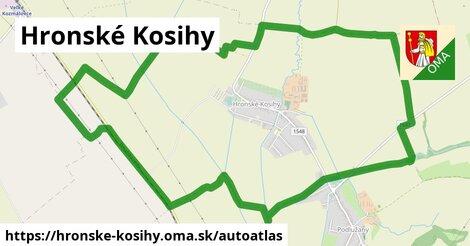 ikona Mapa autoatlas  hronske-kosihy