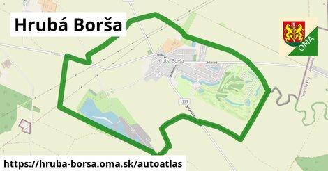 ikona Mapa autoatlas  hruba-borsa