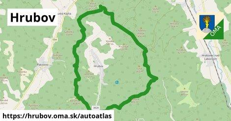 ikona Mapa autoatlas  hrubov