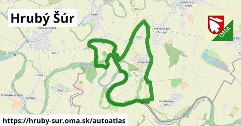 ikona Mapa autoatlas  hruby-sur