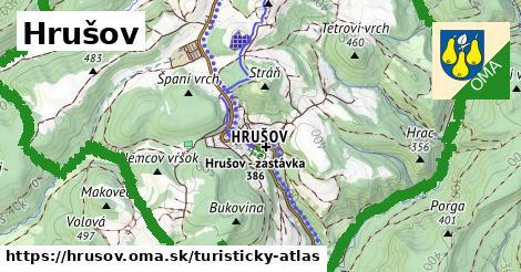 ikona Turistická mapa turisticky-atlas  hrusov