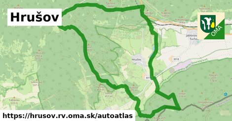 ikona Mapa autoatlas  hrusov.rv