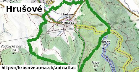 ikona Mapa autoatlas  hrusove