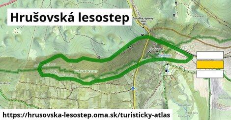 ikona Turistická mapa turisticky-atlas  hrusovska-lesostep
