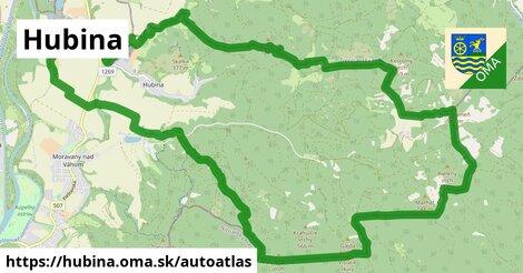 ikona Mapa autoatlas  hubina