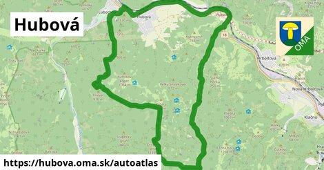 ikona Mapa autoatlas  hubova