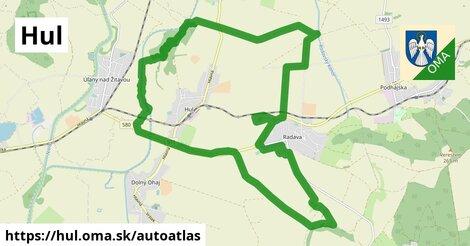 ikona Mapa autoatlas  hul