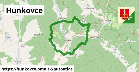 ikona Mapa autoatlas  hunkovce