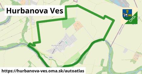 ikona Mapa autoatlas  hurbanova-ves