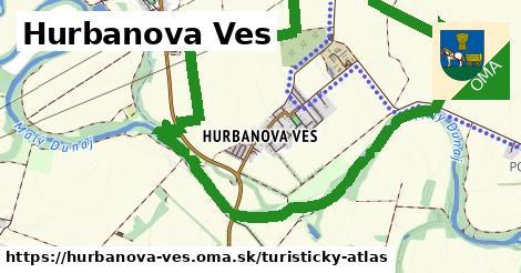 ikona Turistická mapa turisticky-atlas  hurbanova-ves
