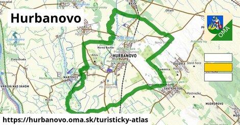 ikona Turistická mapa turisticky-atlas  hurbanovo