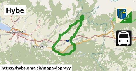 ikona Mapa dopravy mapa-dopravy  hybe