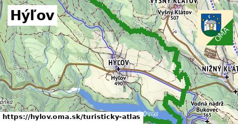 ikona Turistická mapa turisticky-atlas  hylov