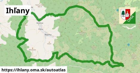 ikona Mapa autoatlas  ihlany