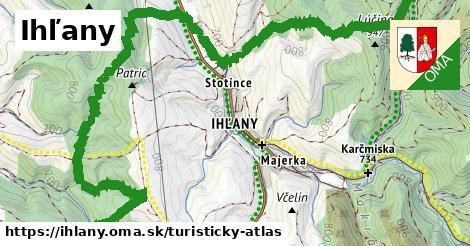 ikona Turistická mapa turisticky-atlas  ihlany
