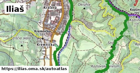 ikona Mapa autoatlas  ilias