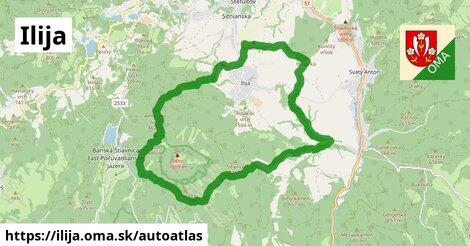 ikona Mapa autoatlas  ilija
