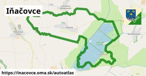 ikona Mapa autoatlas  inacovce