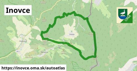 ikona Mapa autoatlas  inovce