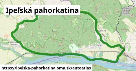 ikona Mapa autoatlas  ipelska-pahorkatina