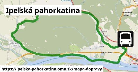 ikona Mapa dopravy mapa-dopravy  ipelska-pahorkatina