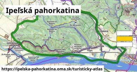 ikona Turistická mapa turisticky-atlas  ipelska-pahorkatina