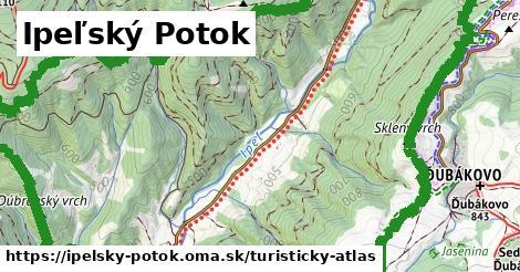 ikona Turistická mapa turisticky-atlas  ipelsky-potok