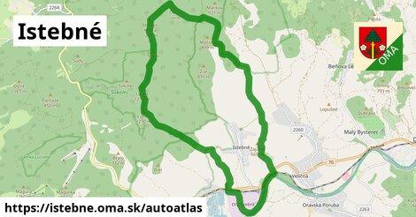 ikona Mapa autoatlas  istebne