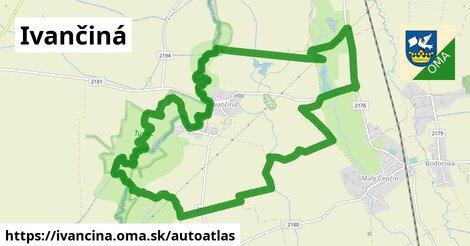 ikona Mapa autoatlas  ivancina