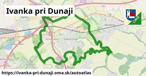 ikona Mapa autoatlas  ivanka-pri-dunaji