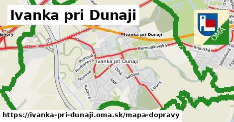 ikona Ivanka pri Dunaji: 113km trás mapa-dopravy  ivanka-pri-dunaji