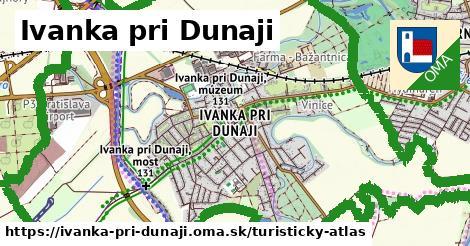 ikona Ivanka pri Dunaji: 6,0km trás turisticky-atlas  ivanka-pri-dunaji