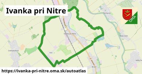 ikona Mapa autoatlas  ivanka-pri-nitre