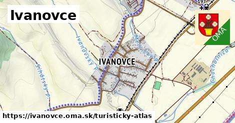 ikona Ivanovce: 2,8km trás turisticky-atlas  ivanovce