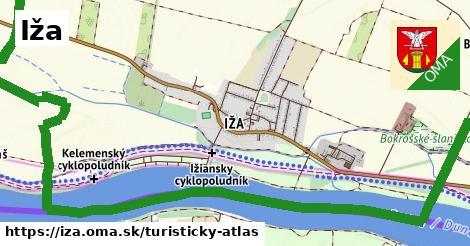 ikona Iža: 2,5km trás turisticky-atlas  iza
