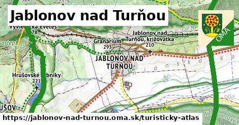 ikona Turistická mapa turisticky-atlas  jablonov-nad-turnou