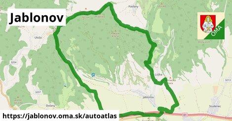 ikona Mapa autoatlas  jablonov