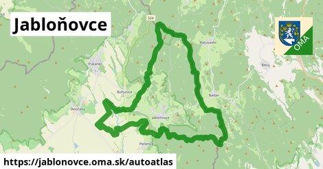 ikona Mapa autoatlas  jablonovce
