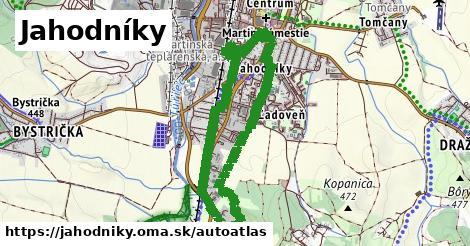 ikona Mapa autoatlas  jahodniky