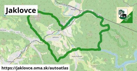 ikona Mapa autoatlas  jaklovce