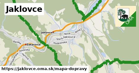 ikona Mapa dopravy mapa-dopravy v jaklovce