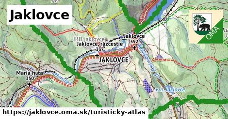 ikona Turistická mapa turisticky-atlas  jaklovce