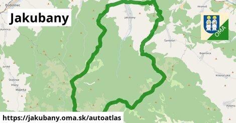 ikona Mapa autoatlas  jakubany