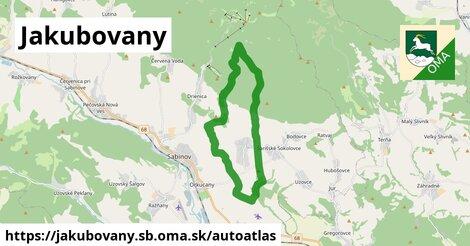 ikona Mapa autoatlas  jakubovany.sb