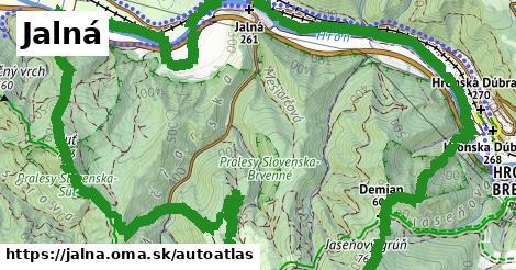 ikona Mapa autoatlas  jalna