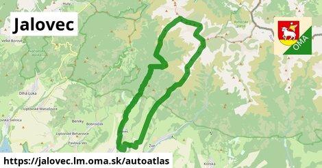 ikona Mapa autoatlas  jalovec.lm