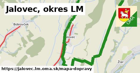 ikona Mapa dopravy mapa-dopravy  jalovec.lm