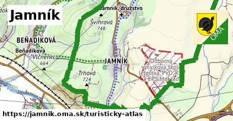ikona Turistická mapa turisticky-atlas  jamnik