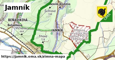 ikona Zimná mapa zimna-mapa  jamnik