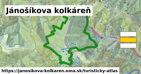 ikona Turistická mapa turisticky-atlas  janosikova-kolkaren